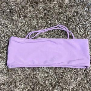 Skatie - Annie Top, Purple Ribbed, Large